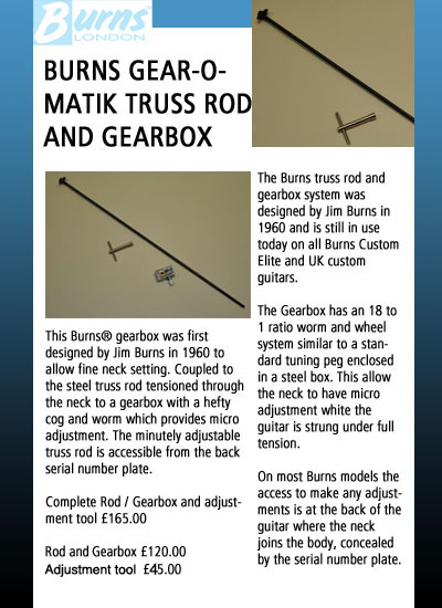 burns guitars accessories hsh guitar wiring diagrams the burns truss rod and gearbox system was designed by jim burns and is still in use on all custom elite and uk custom guitars